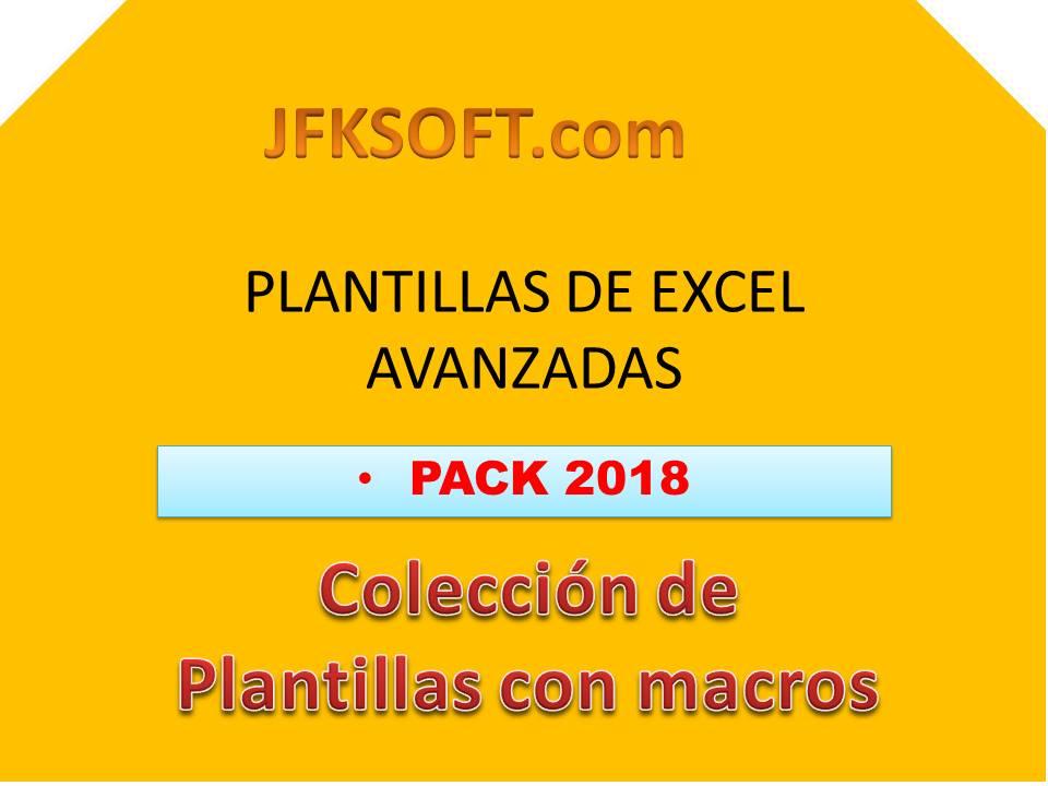 Pack 2018 Plantillas